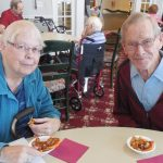 Mary and Dick are extraordinary people and they have so many fun stories to share. They're both always smiling!!