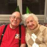 Jim and Fran ringing in the new year! What beautiful smiles!
